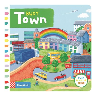 Book cover for Busy Town